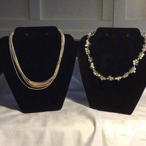 2 Pretty Necklaces for 1 Price